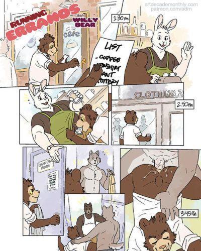 Artdecade Running Errands with Willy Bear