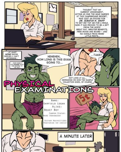 SLIM2k6 Camp Woody - Physical Examinations