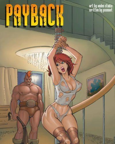 Cơ bắp truyện tranh khiêu dâm