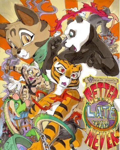 DaiGaijin Better Late than Never (Kung Fu Panda)