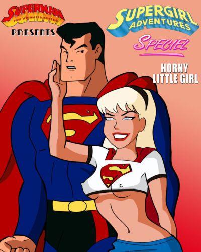 hent Supergirl Adventures Ch. 1 - Horny Little Girl (Superman)