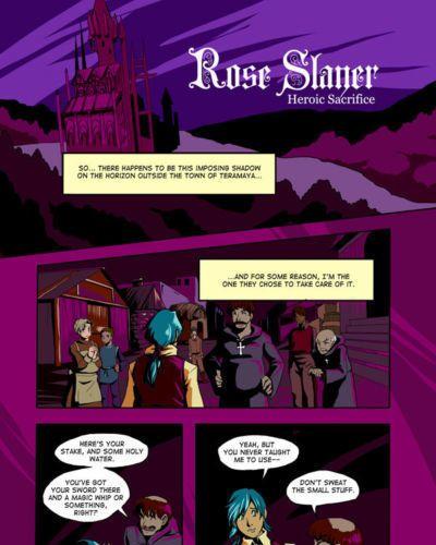 GlanceReviver Rose Slayer: Heroic Sacrifice