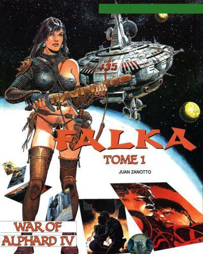 Juan Zanotto Falka - Volume #01: War of Alphard IV (ENG)