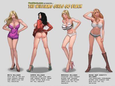 Jaguar The Williams Girls Go Black