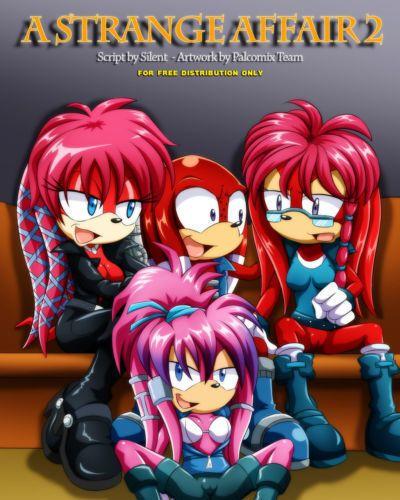 Palcomix A Strange Affair 2 (Sonic The Hedgehog)
