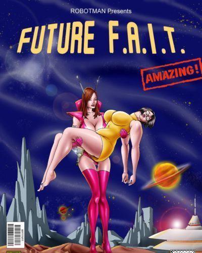 Future F.A.I.T. Predator & Robotman
