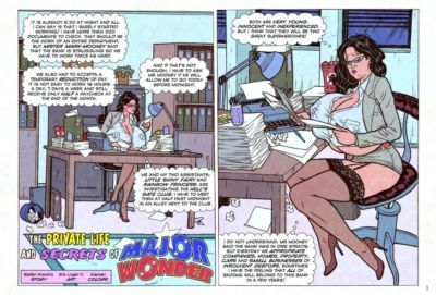 Eric Logan III The Private Life and Secrets of Major Wonder (Ongoing)