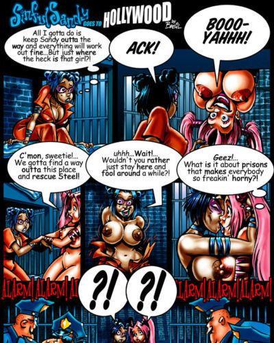 Alien Sex Fiend Basil: Sinful Sandy Comics - part 3