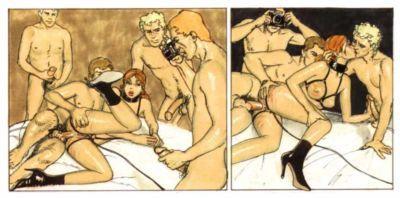 Erich Von Gotha Sophie Curious Perversions {Donnie B.} - part 7