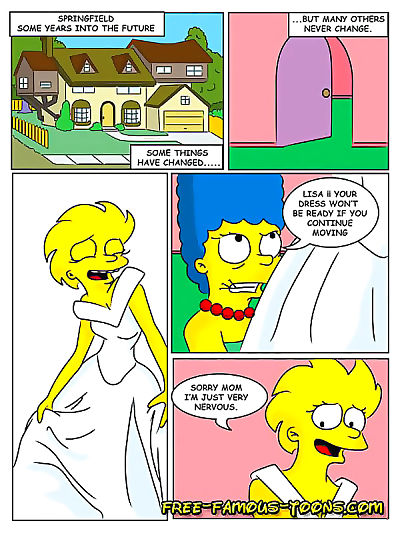 ليزا سيمبسون مثلية الخيال كاريكاتير - جزء 10