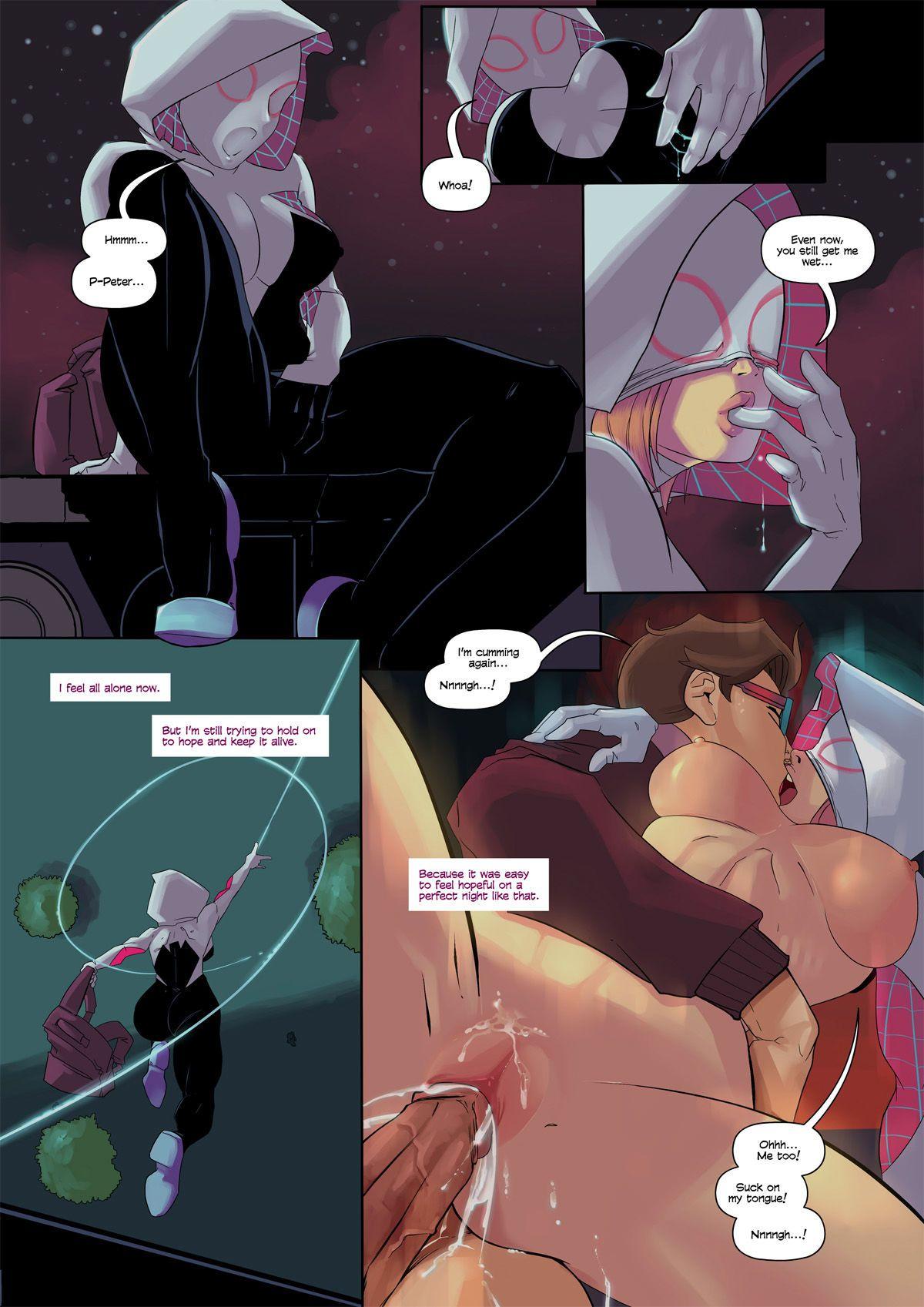Смотреть новый человек паук секс с гвен
