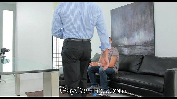 Innocent blonde jock creeped on and fucked by gay castings predatorHD