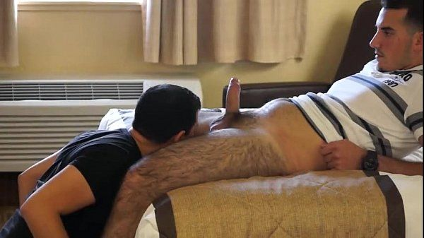 Sucking hairy legs straight dude Parte II