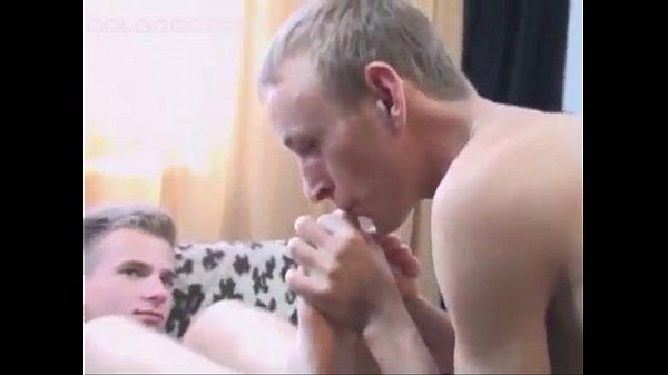 Polish Boys Lick Their Smooth Feet