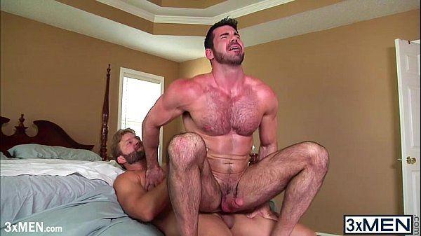 Horny dudes gay quicky fucked