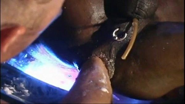 One wreaked hole by Dildo, Machine and Fist WOW