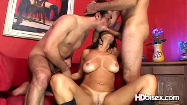 Bisexual Drilled Horny Brunette