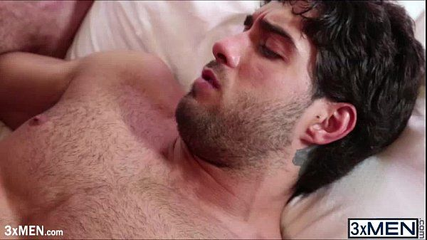 Horny ass dude Ricky Larkin invited Diego Sans to slam his horny hole