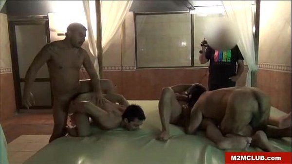 Bareback sex party