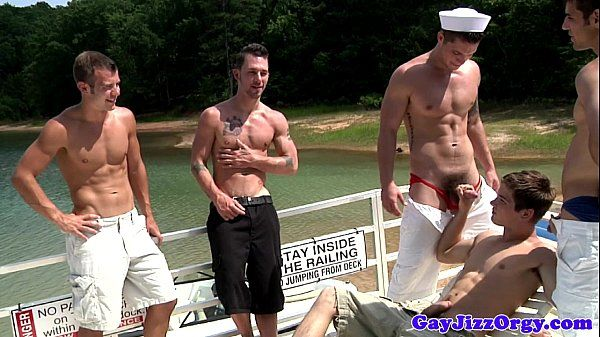 Blaze and pals oral orgy on a boatHD