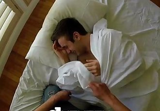 MenPOV Friend surprises his mate with a good fuckHD
