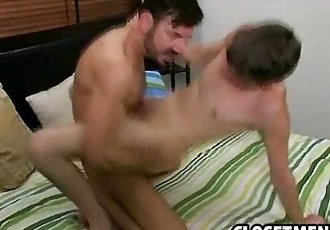 Two twinks fuck eachother and suck great cock