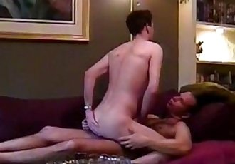 Homemade fucking at its finest with amateur cock eating studs