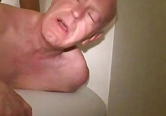 Sugar daddy fucked by str8 jock