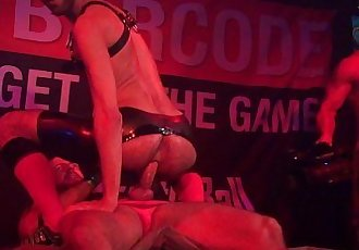 Fostter Riviera and Borck Hatcher @ Hustlaball Berlin 2014