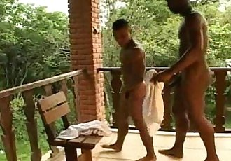 Awesome Beefy Hard Fuck and Wet Suck Outside