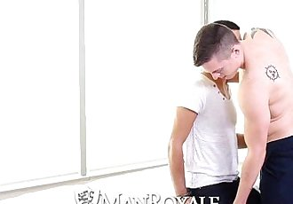 HDManRoyale Sensual massage turns into hot sexHD