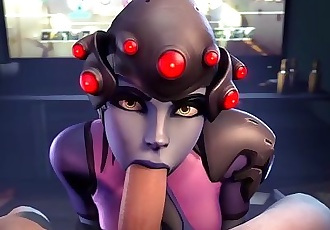 Overwatch Blowjob Compilation