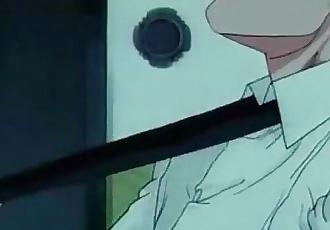 Hardcore Anime Kimie Hanada Crying Freeman - 2 min