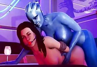 Liara Tsoni Compilation - 3D Mass Effect