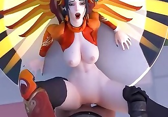 overwatch mercy fucking pov