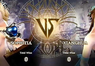 Nude Calibur 6: Sophitia vs Xianghua
