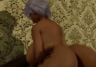 Thick Booty Ebony Granny rides her Neightbors Cock/ Latin wife Blackmailed by BBC 12 min