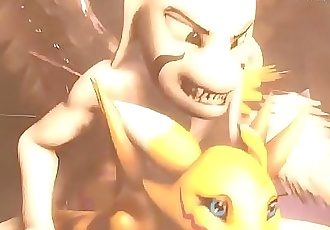 Asriel The Hypergod 3 min HD