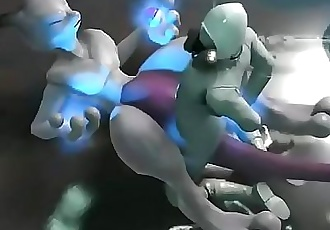 Mewtwo forces scientist to fuck 20 sec