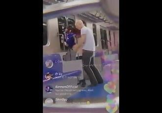 3D animation KDA Akali fucked in a public subway on livestream by shir0qq