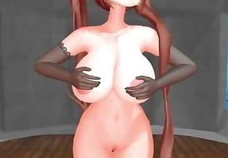 MMD SEX OPPAI KanColle Murasame - Gokuraku Jodo
