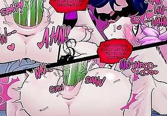 Teen Titans Luckless Raven Beastboy and Jinx Hentai Comic