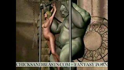 Fantasy Porn scenes - 1 min 40 sec