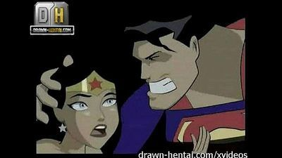Justice League Porn - Superman for Wonder Woman - 7 min