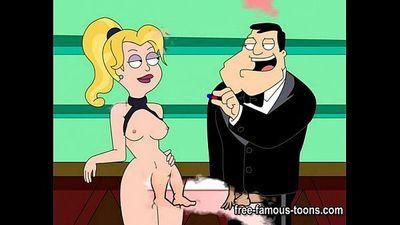 Famous cartoons hard orgy - 5 min