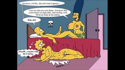 The Simpsons XXX - 6 min