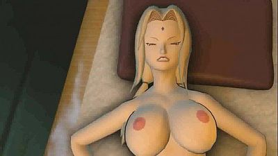 Sakura and Naruto sex in the office of Hokage - 2 min