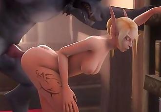 elf e lupo mannaro D hentai