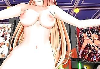 3D MMD Super Affection - Angela Balzac