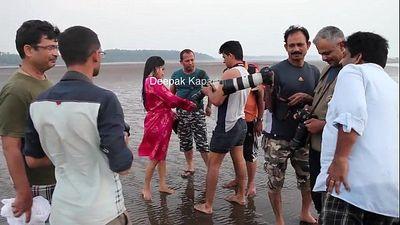 Indian actress nude photoshoot - 3 min